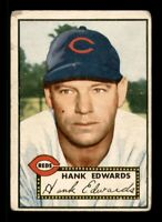 1952 Topps Set Break #176 Hank Edwards GD *OBGcards*