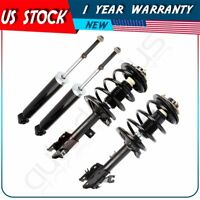 4 Pcs Front Complete Struts Spring + Rear Gas Shocks For Nissan Murano 2003-2007