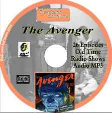 The Avenger - 26 Old Time Radio Action & Adventure Shows - Audio MP3 CD