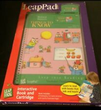 Leap Frog LeapPad Richard Scarry's Things To Know Reading Ages 4-6