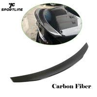 For BENZ W213 E200 E400 E500 E63 AMG 16-19 Carbon Rear Spoiler Wing Factory