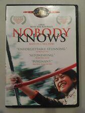 Nobody Knows (Dvd, 2004)