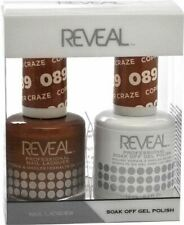 Reveal Gel Polish & Nail Lacquer Matching Duo - COPPER CRAZE - .5 oz - 9020089