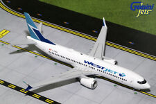 Gemini Jets 1:200 Scale Westjet Boeing 737 MAX 8 C-FRAX G2WJA688
