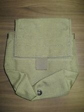 Eagle industries SAW 100 ammo pouch khaki molle SFLCS MLCS dump linked MIL #s EI