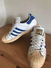 Vintage Retro mens adidas superstar trainers UK Size 9 EU 43