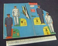 1940s WW2 USA Home Front Press-Out Sailor Stand-Ups