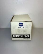 Minolta Micro Lens: 1435-150 x17-Rp405E x23-Rp407E; Unused