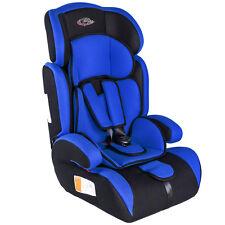 SIÈGE AUTO POUR PETIT ENFANT BÉBÉ Groupe I 2 3 ECE 44/04 9-36 kg bleu noir