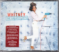 "WHITNEY HOUSTON ""THE GREATEST HITS"" 2CD SET IN FAT JEWEL CASE / GEORGE MICHAEL"