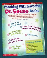 Speech Therapy– Artic/Lang – Teaching With Favorite Dr. Seuss Books Plus 9 Bks