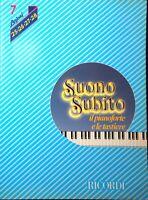 SUONO SUBITO di Franco Bignotto Volume 7 lezioni 25-26-27-28 Ricordi 1983