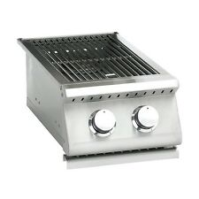 SUMMERSET SIZZLER Stainless Steel Gas Double Side Burner #SIZSB-2 FREE SHIPPING!