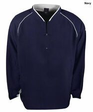 New Mizuno Mens Size- Small Prestige G4 LS Navy Baseball Batting Jersey