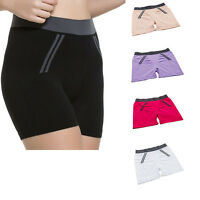HOT  Women Compression Running Sport Slim Yoga Fitness Workout Elastic Shorts