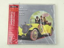 MILES DAVIS - JACK JOHNSON - OST CD JAPAN 1990 SONY RECORDS CSCS W/OBI NEW!NUOVO