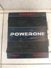 Crunch Powerone P1-600.2 600 Watt 2 Channel Car Amplifier