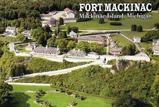 Fort Mackinac Island Michigan American Revolutionary War 1812, Military Postcard