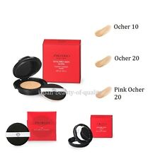 Shiseido makeup Synchro Skin Glow Cushion Compact With puff case Color Ocher 10