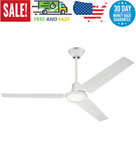 Commercial Ceiling Fan Industrial High Speed Garage Room Shop Heavy Duty Steel