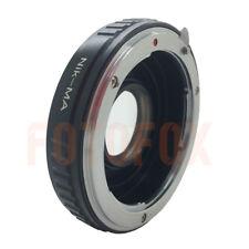 Nikon F Lens to Sony Alpha Minolta AF MA Glass Adapter Infinity focus a580 a350