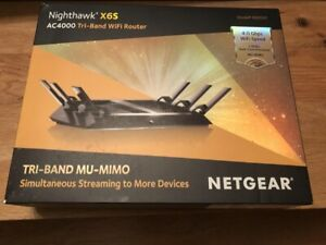 NETGEAR R8000P-100NAS NIGHTHAWK X6S AC4000 TRI-BAND WIFI ROUTER