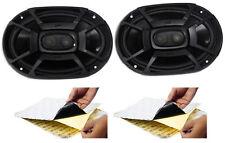 """(2) Polk Audio DB692 6X9"""" 450 Watt Car ATV/Motorcycle/Boat Speakers + Rockmat"""