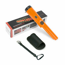 Metal Detector Pinpointer Probe Sensitive Tester With Led Flashlight Waterproof