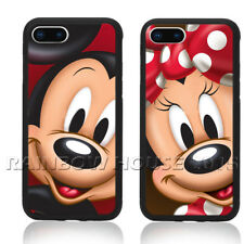Cute Mickey Mouse Minnie Lovers Phone Case For iPhone 11 Max Note 10 S10+ Cover