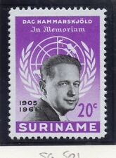Suriname 1961 Early Issue Fine Mint Hinged 20c. 168998