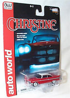 Auto World - Christine / 1958 Plymouth Fury - Silver Screen Machines 1:64 Scale