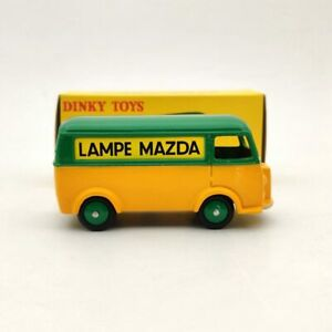 1/43 Atlas Dinky Toys 25B Peugeot Fourgon Tole D.3.A LAMPE MAZDA Green Diecast