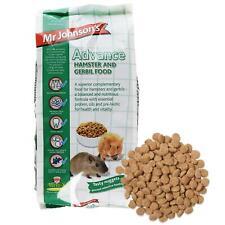 Mr Johnsons Advance Hamster Gerbil Health Food Dwarf Nuggets Pellets Diet 750g