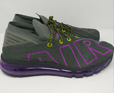 Nike Air Max Flair Uptempo Men's Running Shoes Size 11 AH9711 001 Grey & Purple