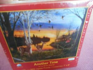 SunsOutMini Jigsaw Puzzle ANOTHER TIME by  ERVIN MOLNAR 100 PCS #MPZ07055  NIP