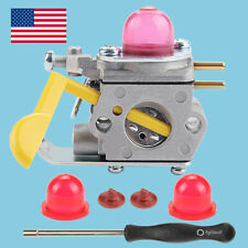 Carburetor For Weedeater Featherlite FL25C FX26SC XT260 FL20 FL26 with Red Bulbs