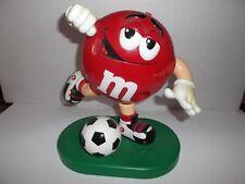 M + M Figur mit Fussball, Werbefigur, Werbemänchen, Schaufensterfigur,