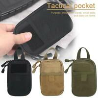 Outdoor Waterproof Tactical Waist Belt Pack Phone Case Pouch  Sports Camping Bag