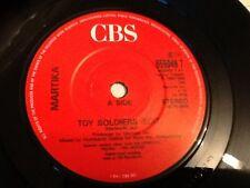 "MARTIKA . TOY SOLDIERS ( EDIT )   . 1989 7"" SINGLE .. CLASSIC 1980's"