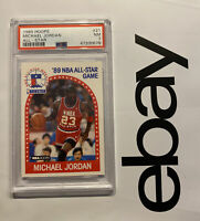 Michael Jordan PSA 7 Collector Card Chicago 1989 Hoops #21 Last Dance INVEST NR