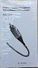 Agilent Cleaning Procedure for Lightwave Test Equipment Pocket Guide 5963-3538