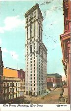 The Times Building - Nyc New York 1910 Divided Back Postcard