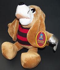 "NWT Calplush Puppy Dog Pirate Plush Lovey 14"" Stuffed Animal Toy Hook Scar"