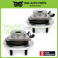 Set New Front Wheel Bearing & Hub Assembly for Ram 1500 Dodge Ram 1500 5 Lug-ABS