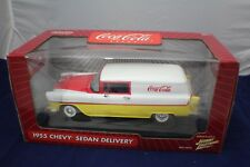 1-18 Coca Cola 1955 Chevy Delivery Sedan Johnny Lightning item#383-08 from 2004.