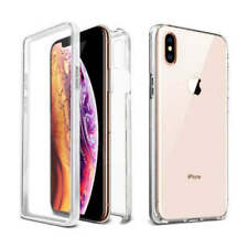 360 Front & Back Slim TPU Clear Gel Full Cover Case For Apple iPhone 11 XR 8 7 6