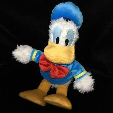 "Disneyland Donald Duck Plush WDW Sailor 11""  Soft Toy Stuffed Animal"