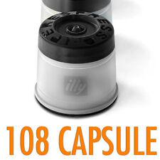 108 CAPSULE caffè ILLY Iperespresso TOSTATURA FORTE NERA SCURA