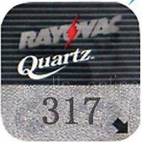 2 Rayovac 317 Silver oxide Watch Batteries SR516SW 621