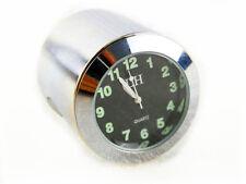 "7/8"" - 1'' Handlebar Clock For Harley Honda Kawasaki Suzuki Yamaha VN VT Custom"